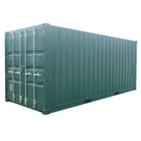 Maritime rental of containers to shipping lines